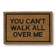 Shop funny home decor items including posters, glasses, and more on domino. Domino shares the best funny decor items to shop for yourself or to give as gifts. Funny Home Decor, Home Decor Shops, Home Decor Items, Decorative Accessories, Decorative Items, Contemporary Door Mats, Funny Doormats, Coir Doormat, Welcome Mats