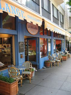 La Boulange | San Francisco -- Must check out for breakfast or lunch (menus online)