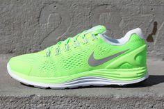 Nike Lunarglide+ 4 (Electric Green) #sneakers