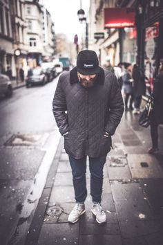 .Supreme hat - quilted jacket - shoes
