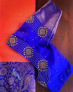 Cutwork Blouse Designs, Wedding Saree Blouse Designs, Best Blouse Designs, Saree Blouse Neck Designs, Simple Blouse Designs, Embroidery Neck Designs, Stylish Blouse Design, Blouse Patterns, Embroidery Stitches