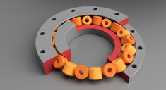 Create a Parametric Slew Bearing With Fusion 360 (with Pictures) - Instructables 3d Printing Diy, 3d Printing Business, 3d Printer Projects, Diy Projects, Pattern Sketch, Mechanical Design, Mechanical Engineering, Diy Store, Parametric Design