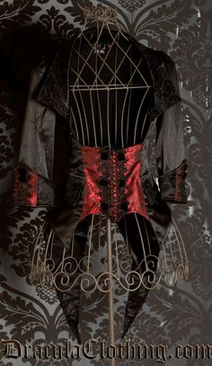 #Goth jacket with tails (tailcoat jacket) from www.draculaclothing.com