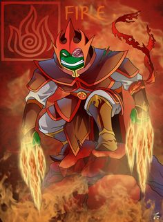 Raphael is a Firebender (TMNT/Avatar Crossover)