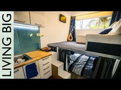 Woman's 20' Off Grid Shipping Container Tiny House
