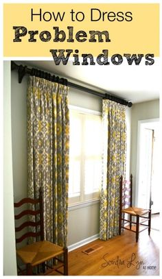 How to Dress Problem Windows - Guest Post at The Everyday Home