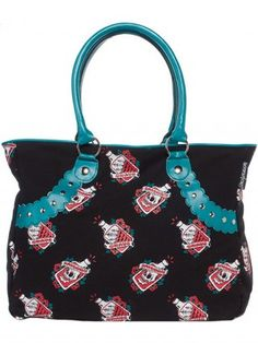 Light Pink Deadly Deville Purse By Sourpuss Clothing
