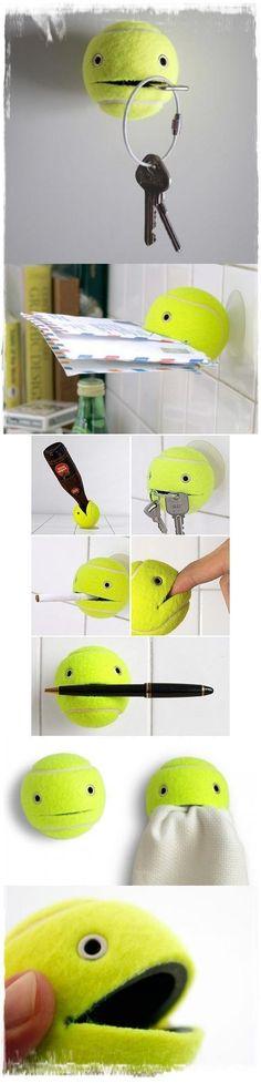 Funny DIY Tennis Ball
