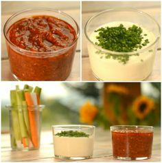 Dip z pečeného česneku a Bloody Mary dip , Foto: Hermína / Prima