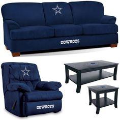 Dallas Cowboys NFL Supreme Fan Cave Set