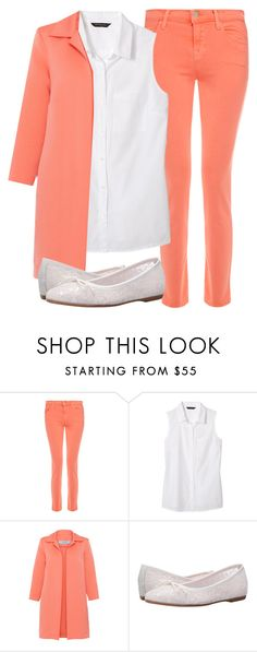 """""""Back2School"""" by lipsy-look ❤ liked on Polyvore featuring J Brand, Banana Republic, D.Exterior, Summit by White Mountain and orange"""