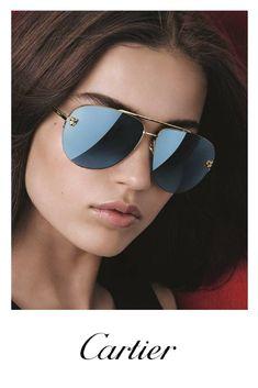 9739fd85a5c1b CARTIER PANTHERE AVIATOR ESW00093 Cartier Sunglasses