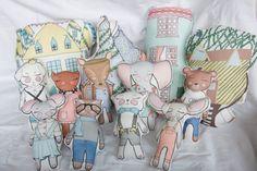 Organic Plush toys by TaylorAndRain on Etsy