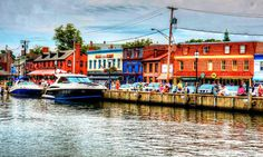 Annapolis City Dock - Maryland, USA is Hub to Exiting Places – Learn More Here