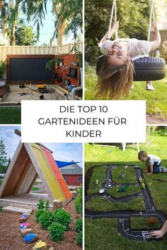 You& looking for garden ideas for your children in your garden? Then you are exactly right here! Kids Outdoor Play, Gardening For Beginners, Growing Plants, Garden Plants, Most Beautiful Pictures, Outdoor Gardens, Have Fun, Backyard, Budget