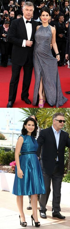 Fabulously Spotted: Hilaria Baldwin Wearing Carmen Marc Valvo - 2013 Cannes Film Festival Premiere & Photocall - http://www.becauseiamfabulous.com/2013/05/hilaria-baldwin-wearing-carmen-marc-valvo-2013-cannes-film-festival-premiere-photocall/