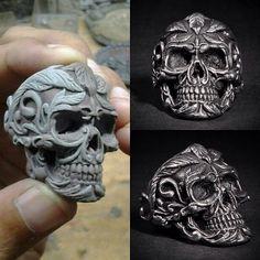 Deadleaf Skull Ring exposure by fourspeedindonesia.deviantart.com on @DeviantArt