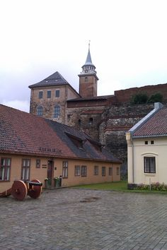 Akershus fortress. I'll get there someday.