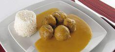 Mandonguilles amb salsa de verdures | Thermocuina.cat