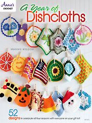 A Year of Dishcloths to crochet patterns