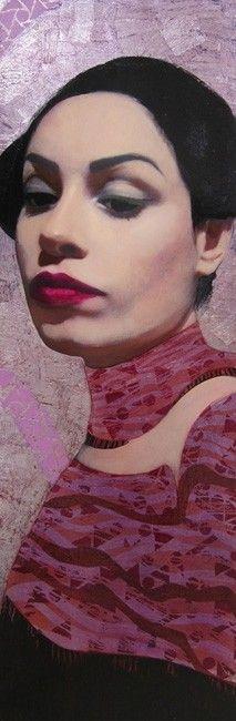 Richard Burlet (180×60 cm) technique mixte