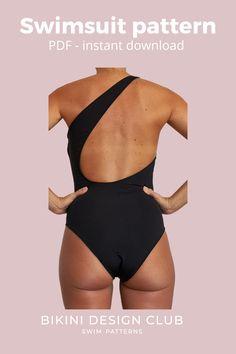 Swimsuits, Bikinis, Swimwear, Swimsuit Pattern, Paper Size, Two By Two, One Piece, Patterns, Fitness