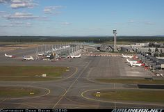 Oslo Gardermoen Airport, located at Ullensaker, Akershus - 45 km. north for Oslo.