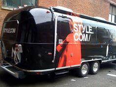 Airstream Trailer wrapped in New York - Find out how we can finance your #trailerwrap at Rimz-U-Like