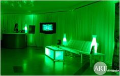 Lounge Spaces at Events and Wedding by Art of Imagination in Chicago