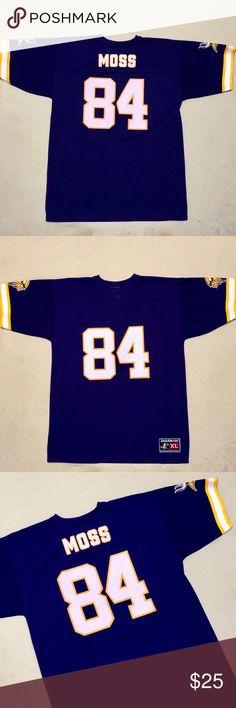 9233bd903 Minnesota Vikings - Vintage Randy Moss Jersey Tee Minnesota Vikings - Randy  Moss Vintage Logo 7
