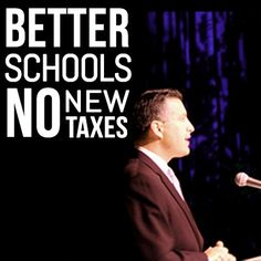 Want better schools, without raising taxes? Show your support for Governor Sandoval's plan: Better Schools, No New Taxes  www.briansandoval.com