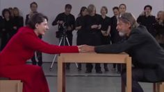 MoMA 2010 on Vimeo. Marina Abramovic and Ulay started an intense love story in the 70s, performing art out of the van they lived in. When they felt the relationship had run its course, they decided to walk the Great Wall of China, each from one end, meeting for one last big hug in the middle and never seeing each other again. In 2010, Marina performed 'The Artist Is Present', a minute of silence with each stranger who sat in front of her. Ulay arrived without her knowing it.