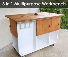 In this Instructable I'm going to show you how I built my 3 in 1 multipurpose workbench.I'm going to show you how I turned my router into a router table,...