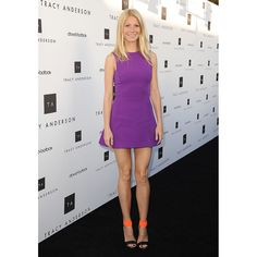love #GynethPaltrow in this #purple #dress