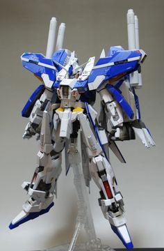 MSN001X Ext Gundam Delta Kai: Latest Work by ssc.