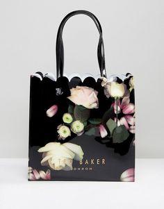 e47a1bac533b Ted Baker Coracon Floral Large Icon Bag Asos