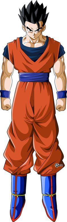 DeviantArt: More Like majin buu dragon ball super by naironkr Dbs Gohan, Mirai Gohan, Figurine Dragon, Kid Goku, Dbz Characters, Fan Art, Dragon Ball Gt, Super Saiyan, Ssj 4