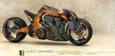 increible motocicleta....