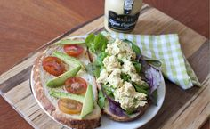 Meat free version of Coronation Chicken using - spice up your veggie sandwiches! Veggie Sandwich, Quorn, Spice Things Up, Sandwiches, Spices, Veggies, Homemade, Chicken, Meat