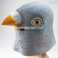 серый голубь маска жуткий начальник хэллоуин декорации для вечеринок костюм театр опора новинка