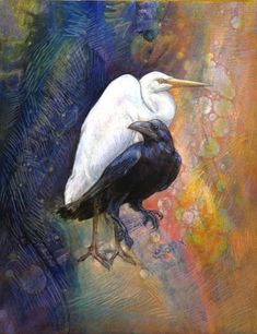 """Before there was anything, Heron and Crow were there""   Sharmon Davidson"