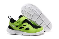 Kids Free Run 2 green black