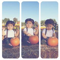 Rylan's 1st pumpkin patch