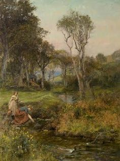 Henry John Yeend King - The Brook