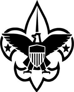 boy scout emblem clip art find more clipart at blue gold rh pinterest com boy scout logo clip art free eagle scout symbol clip art
