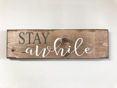 "WELCOME SIT RELAX ENJOY HOME DECOR WALL DECAL 9/"" X 37.5/"""