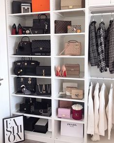 Find image, bag display, closet space, home interior