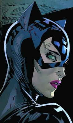 Catwoman Comic, Catwoman Cosplay, Batman And Catwoman, Batman Art, Batman Comics, Dc Comics, Batwoman, Batgirl, Spiderman Black Cat