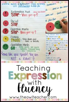 Reading fluency is about more than just pace, accuracy, and smoothness. It is also about expression! I share my process for teaching expression in fluency in this blog post, which includes a discussion of how punctuation marks influence expression and fluency. Get all of the tips in this post!