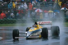 Thierry Marc Boutsen (BEL) (Canon Williams Team), Williams FW12C - Renault RS1 3.5 V10  (Canada 1989)